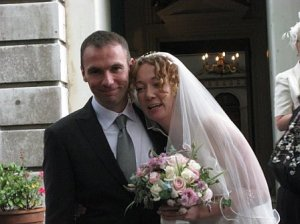 Sally and Mark wedding day