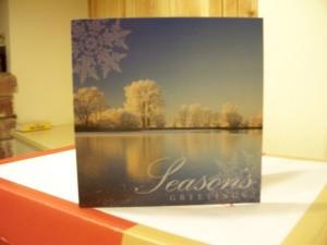 Early Christmas card